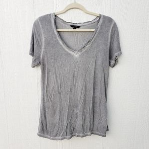 3 for $25 Banana Republic Oil Grey V neck T-shirt